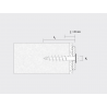 Technical drawing of insulation screw plug IPS-H 55