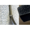 Application image of push loop TCB: Easy installation with a hammer