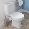 WC toilet horizontal installation set FWCH