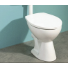 Toilet bowl and bidet vertical installation set XFWC