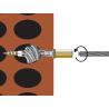 Plastic bag wood screw with internal thread Torab TRBP