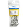 Plastic bag nylon clamp multidiameter ABM