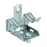 Metal clip for beams with M6 screw CAB