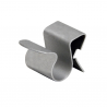 Metal clip for beams cable type CC