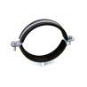 EPDM rubber lined pipe clamp M8+M10 RI