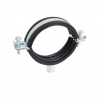 Quick EPDM rubber lined clamp M8+M10 RIK