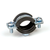 EPDM rubber lined pipe clamp M8 RIEL
