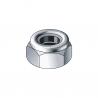 Nut with nylon insert lock DIN 985