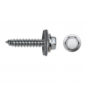 Hexagonal screw DIN + EPDM washer DIN7661
