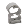 Product image of plastic clamp Abranyl ABT grey